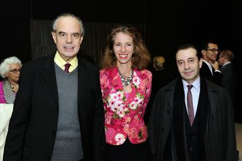 Mitterrand Labourdette et Bruno Racine